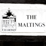 The Maltings Cramond Sign
